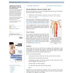Allt du behöver veta om ischias, del 1 - Ryggvärksexperterna ljuger