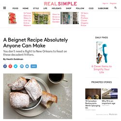 ABeignet Recipe Absolutely Anyone Can Make