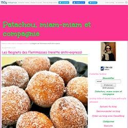 Les beignets des flemmasses (recette archi-express)