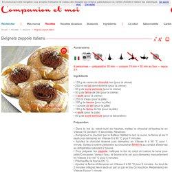 Beignets zeppole italiens recette companion moulinex