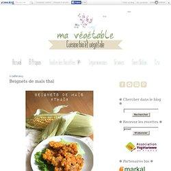 Beignets de maïs thaï