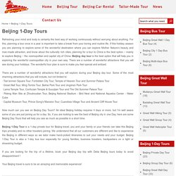 Beijing Day Tours From Airport, Best Beijing Layover Private Trips