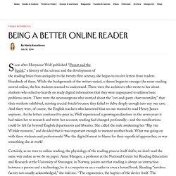Being a Better Online Reader