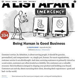 Being Human is Good Business