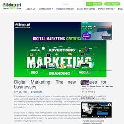 Digital Marketing: Online Career USA Certifications - Beingcert.com