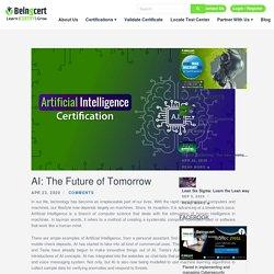 AI Online Career USA Certifications - Beingcert.com