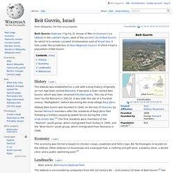 Beit Guvrin, Israel