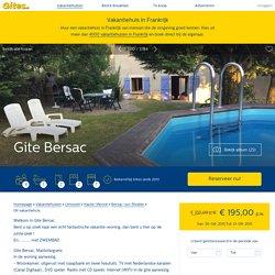 Bekijk vakantiehuis Gite Bersac in Haute-Vienne - Limousin - Gites.nl