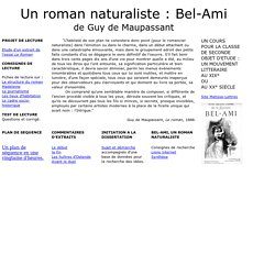 Bel-Ami - Page d'accueil