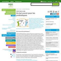 EUFIC 24/02/06 Un bel avenir pour les probiotiques