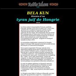 Histoire d´1 tyran juif de Hongrie