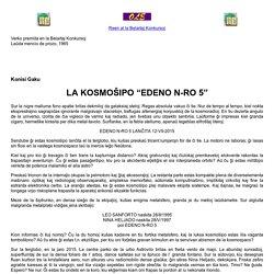Belartaj Konkursoj: EDENO N-RO 5