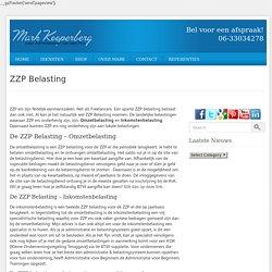 Belasting zzp – Administratie Voor Beginners