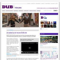 DUB: *Zo beleef je de nieuwe DUB-site