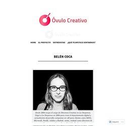 """Su percepción feminista de la profesión, concedida al blog """"Óvulo creativo"""""""