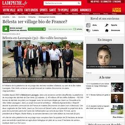 Bélesta 1er village bio de France? - 01/07/2014