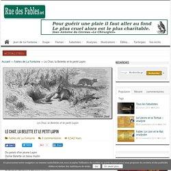 Le Chat, la Belette et le petit Lapin - RuedesFables.net