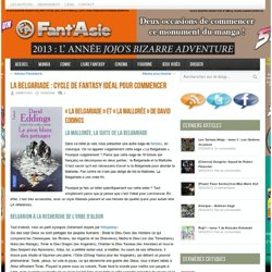 La Belgariade : cycle de fantasy idéal pour commencer