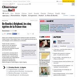 De Boutin à Belghoul, les cinq égéries de la France réac