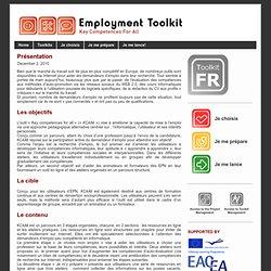 Employment (Belgian) Toolkit - Ateliers TRE
