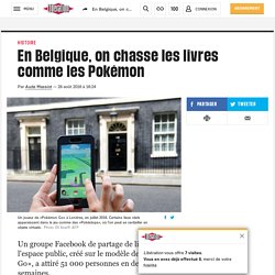En Belgique, on chasse les livres comme les Pokémon