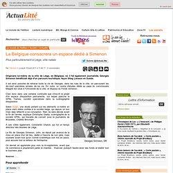 La Belgique consacrera un espace dédié à Simenon ActuaLitté