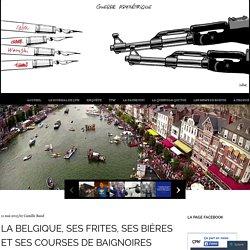 La Belgique, ses frites, ses bières et ses courses de baignoires