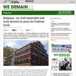 Belgique : un vieil immeuble mal isolé devient le must de l'habitat écolo
