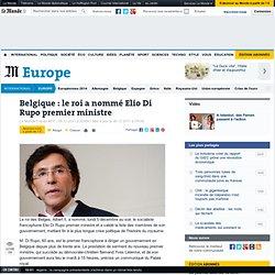 Belgique : le roi a nommé Elio Di Rupo premier ministre