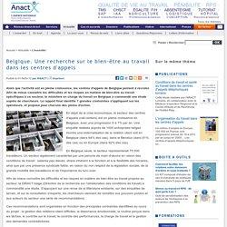 Belgique. Une recherche sur le bien-être au travail dans les centres d'appels