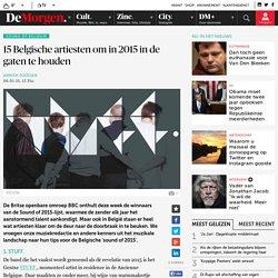 15 Belgische artiesten om in 2015 in de gaten te houden