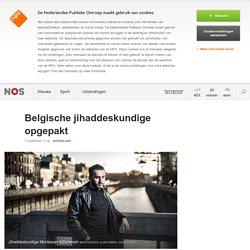 Belgische jihaddeskundige opgepakt