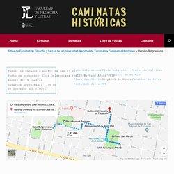 Circuito Belgraniano – Caminatas Históricas