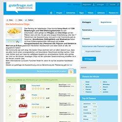 Die beliebtesten Chips - gutefrage.net Auszeichnung