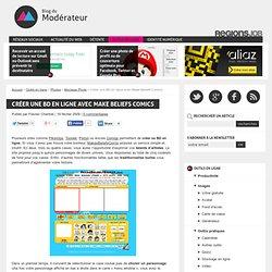 Créer une BD en ligne avec Make Beliefs Comics