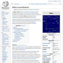 Bélier (constellation)