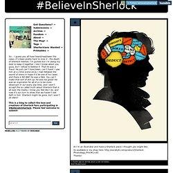 #BelieveInSherlock