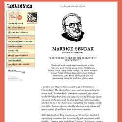 Interview with Maurice Sendak