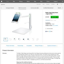 Belkin Tablet Stage Stand + App for iPad