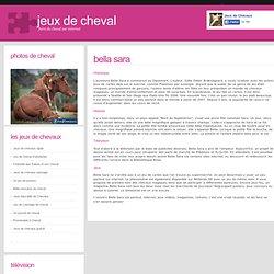Chevaux littleapple pearltrees - Jeux de bella sara ...