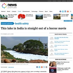 Lake of fire: Bellandur Lake in India spontaneously combusts