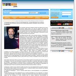 Le devenir des réseaux sociaux par Pierre Bellanger président de Skyrock