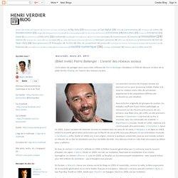 (Billet invité) Pierre Bellanger : L'avenir des réseaux sociaux