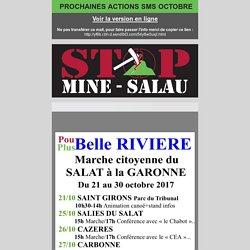 Pou-belle, Plus-belle rivière du 21 au 31 octobre 2017