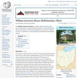 William Lawrence House (Bellefontaine, Ohio) - Wikipedia