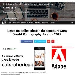 Les plus belles photos du concours Sony World Photography Awards 2017
