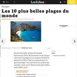 Les 10 plus belles plages du monde, Voyages