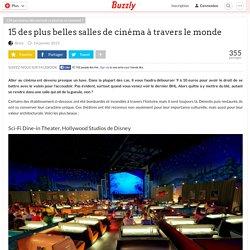 15 des plus belles salles de cinéma à travers le monde
