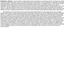 belletristic essay topics