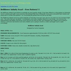 Bellflower Infinity Scarf – Free Pattern!!!!